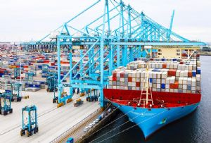 image: Netherlands APM Terminals Maersk Hutchison Rotterdam ports European Commission Merger Team