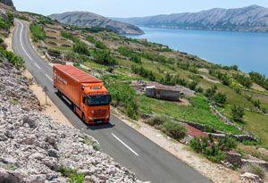 image: Kazakhstan Austria Gebr�der Weiss freight forwarding road haulage cargo hub logistics