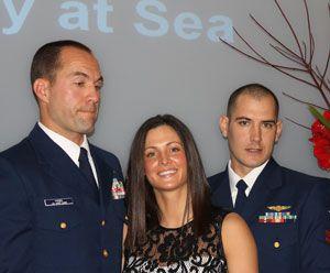 image: UK IMO shipping Exceptional Bravery at Sea Awards Randy Haba Daniel J Todd US coastguard China