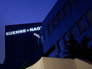 image: Kuehne + Nagel Crestron freight forwarding logistics supply chain technology