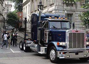 image: UK German HGV driver freight transport road haulage shortage Treasury