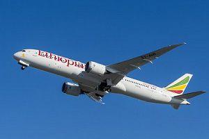 image: Ethiopian airlines 787-9 Boeing cargo medical aid US Addis Ababa AerCap