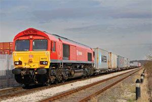 image: UK intermodal cargo freight rail review Network track