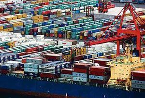 image: Australia intermodal freight terminal multi modal shipping container pollution cargo