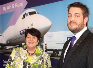 image: UK Germany Ireland BDA bespoke air freight time critical logistics acquires distribution