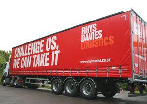image: Rhys Davies UK road haulage freight forwarder logistics operator Caterpillar Volvo Komatsu excavators dozers palletised loads air cargo