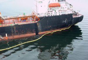 image: P&I club insurance group bunker oil spillage video loss prevention
