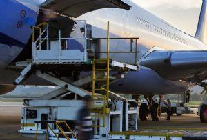 image: IATA coronavirus covid-19 air freight cargo volume capacity