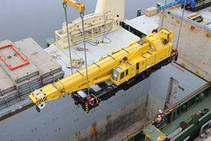image: China Germany project freight forwarding cargo heavy lift