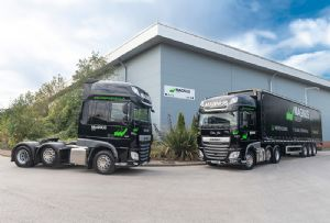 image: UK Road Haulage Company trucks logistics freight forwarding Magnus warehousing Suffolk