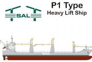 image: Germany SAL heavy lift ship vessel project cargo