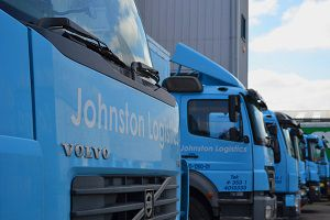 image: German freight forwarding Dachser logistics partner Johnston Dublin