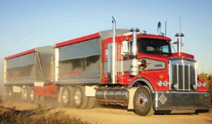 image: Australia NSW road haulage trailer truckers stamp duty dolly tri axle