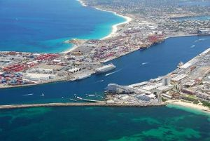 image: Fremantle, Port of Fremantle, shipping, freight, sea freight, ocean freight, containers,  Simon O�Brien, WA, MSC Confidence, Harbour deepening, container trade, Western Australia