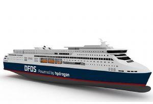 image: Denmark, Norway, DFDS, Ballard Power, ABB, Lloyd�s Register, Knud E Hansen, hydrogen, RoPax, ferry, vessel, ship, craft, fuel cell,