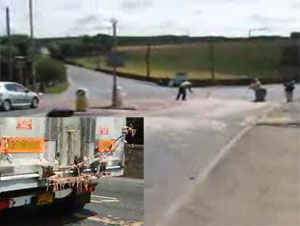 image: UK road haulage fine freight operator maggot farming angling environmental Kirklees Magistrates offal drivers record keeping VOSA Leo Group