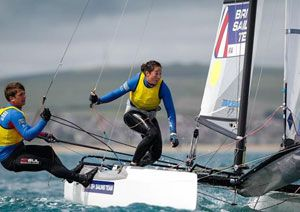 image: UK British Sailing Team specialist logistics shipping