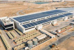 image: Dubai Solar Energy Greener Supply Chain Middle East Logistics Hub