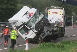 image: Europe alcolocks European Transport Safety Council (ETSC) drink driving HGVs