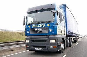 image: UK road haulage operator Welch housing