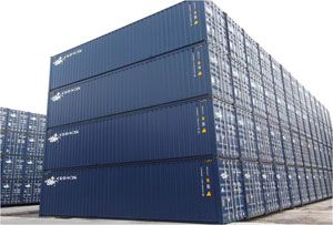 image: Cronos Seaco global shipping container leasing TEU