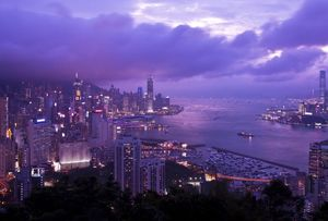image: China logistics Hong Kong freight forwarding insurance