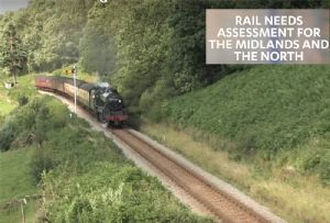 image: UK, rail, report, National Infrastructure Commission (NIC), Tony Berkeley, HS2, intermodal, freight, passenger,