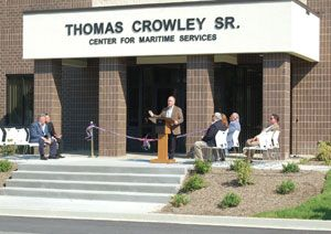 image: US Crowley Maritime Corporation Thomas senior shipping Seafarers International Union