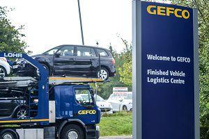 image: UK Gefco Portbury vehicle logistics freight operation