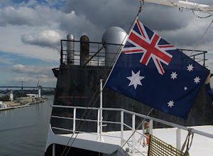 image: Australia Jones Act shipping freight union cabotage