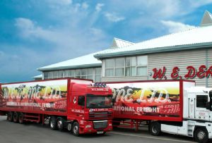 image: UK W E Deane logistics freight forwarder international