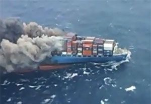 image: Japan steel failure MOL Comfort freight container ship ClassNK vessel brittle crack arrest