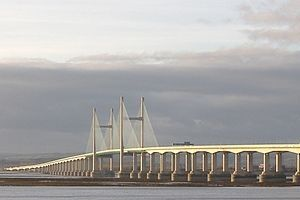 image: Wales Severn Bridge Crossing Tolls Rip off England UK