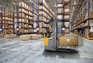 image: Spain, Jungheinrich, Codorn�u, wine, sparkling, Cava, fork truck, automated, lithium, warehouse, management,