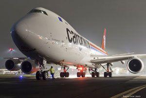 image: Luxembourg China Cargolux air freight cargo Zhengzhou Henan
