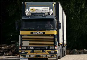 image: Scania Swedish truck maker European Commission cartel antitrust