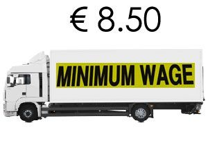 image: German minimum wage road haulage European Commission