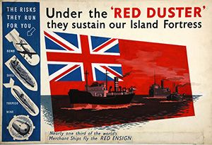 image: UK shipping register vessels Merchant fleet Red Duster Ensign tonnes LISW