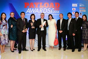 image: Hong Kong China Hactl Hacis cargo handler logistics award green gong customer choice Payload Asia Awards
