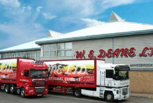 image: UK, W E Deane, UKWA, warehousing, storage, freight, forwarders, logistics, evolution, pallet, racking, narrow, aisle,