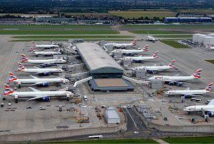 image: UK London Heathrow third runway freight logistics CILT CBI FTA transport