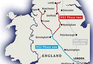 image: UK HS2 Sir Humphrey speak Grayling Lord Tony Berkeley rail freight