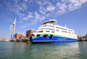 image: UK Chamber of Shipping hybrid RoPax ferries Wightlink Isle of Wight