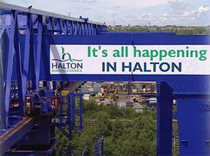 image: UK rail freight cargo multimodal terminal truck green lobby