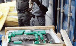 image: Nigeria freight container terminal tonnes cargo logistics pirates
