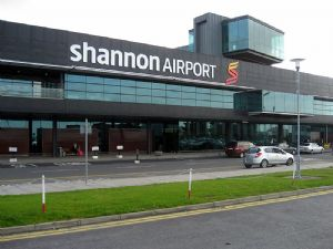 image: US Lynx Dublin airport Shannon freight hub cargo handling terminal