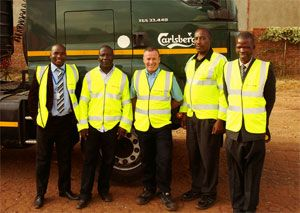 image: South Africa cycle ride freight logistics transportation charity Transaid