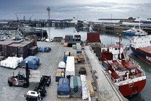 image: UK Jersey stevedoring freight cargo VAT scheme