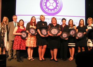 image: FTA Freight transport logistics everywoman awards London Hilton Park Lane women
