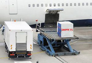 image: UK US freight forwarding road haulage logistics Unit load devices air cargo